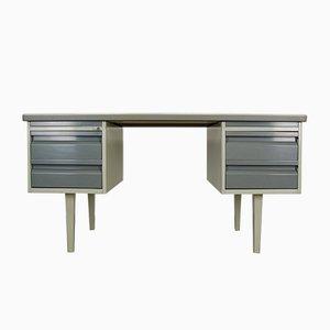 Niederländischer Metall Schreibtisch von van Blerk, 1950er
