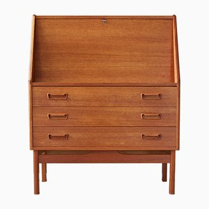Danish Teak Secretaire from Dyrlund, 1960s