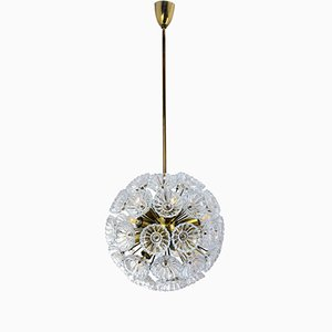 German Pusteblume Ceiling Lamp, 1950s