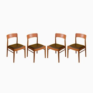 Dining Chairs from KS Møbler, 1960s, Set of 4