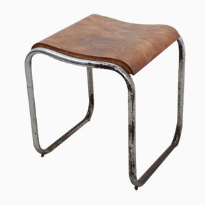 Italian Bauhaus Stool from Cova, 1930s