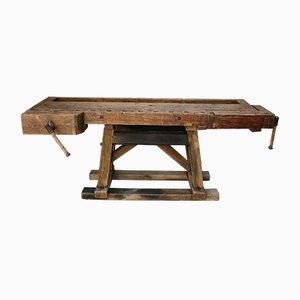 Antike Tischler Werkbank