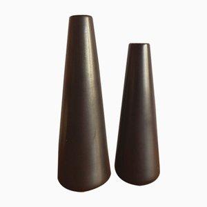 Vasen von Jan Bontjes van Beek für Dr. Alfred Ungewiß, 1950er, 2er Set