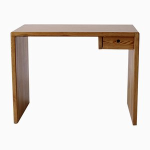 Scandinavian Small Pine Desk, 1970s