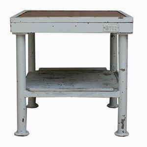 Table de Travail Vintage en Métal