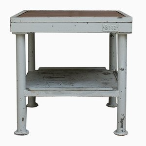 Vintage Metal Work Table