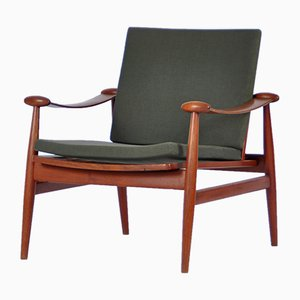 Model FD 133 Easy Chair by Finn Juhl for France & Daverkosen, 1960s