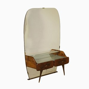 Italian Walnut Dressing Table, 1950s
