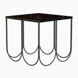 OTTO Coffee Table in Black with Black Marble by Alex Baser for MIIST