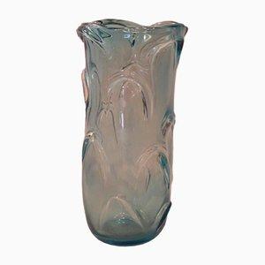 Jarrón de cristal de Murano de Enrico Camozzo, años 60