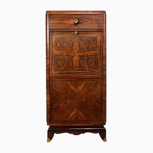 Art Deco Cocktail Cabinet in Rosewood, 1920s
