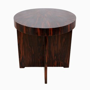 Art Deco Coffee Table in Macassar Ebony, 1930s
