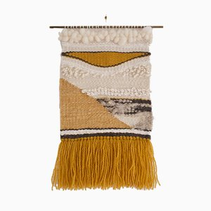 Autumn Birch Hand Woven Wall Hanging from Weavesmith, 2017