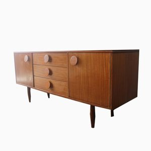 English Small Teak Sideboard, 1960s