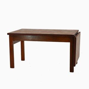 Table Basse Extensible en Teck par Hans J. Wegner pour Getama, 1960s