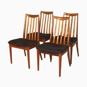 Vintage Teak Stühle von Leslie Dandy für G-Plan, 4er Set