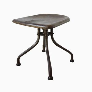 Antique Stool by Henri Liber for Flambo