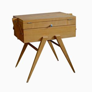 Mid-Century Modern Sewing Box, 1950s