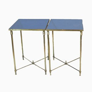 Table d'Appoints Hollywood Regency, 1960s, Set de 2