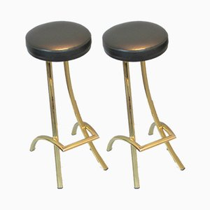 Vintage Spanish Stools, Set of 2