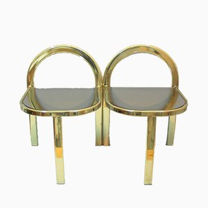 Vintage Hollywood Regency Tables from Unic Design, Set of 2
