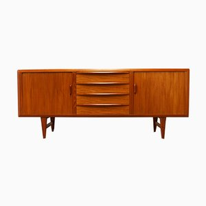 Danish Teak Sideboard by Ib Kofod Larsen for Faarup, 1950s