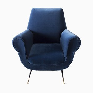 Armchair by Gigi Radice for Minotti, 1950s