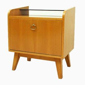 Mueble pequeño de fresno, años 50
