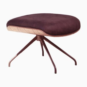 Lounger Footstool Walnut by Jaime Hayon for BD Barcelona