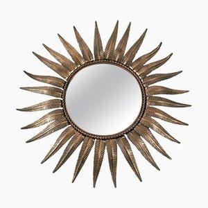 Espejo en forma de sol, años 60