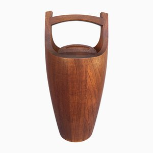 Vintage Teak Congo Ice Bucket by Jens Quistgaard for Dansk Design