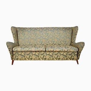 Geblümtes italienisches Sofa, 1960er