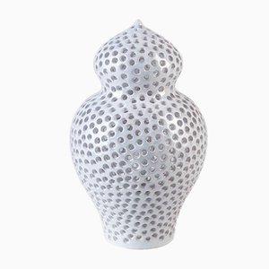 Lámpara de mesa Araba pequeña perforada de Marco Rocco