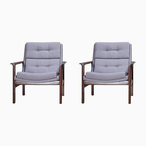Lounge Chairs by José Espinho for OLAIO, 1960s, Set of 2