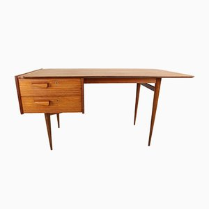 Mid-Century Teak Desk, 1950s