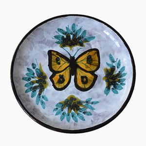 Vintage Butterfly Ceramic Centerpiece or Vide Poche