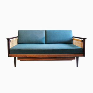Vintage Danish Sofa Daybed in Palisander by Illum Wikkelsø for Niels Eilersen