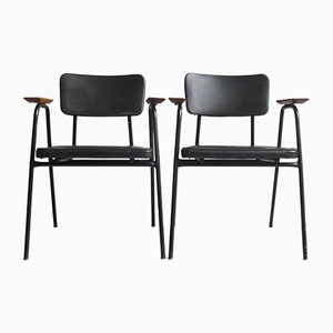 Model M Armchairs by Pierre Guariche for Meurop, Set of 2