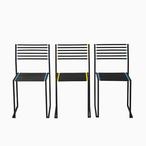 Chairs, 1980s, Set of 3