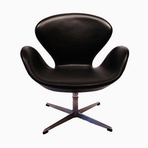 3320 Swan Chair von Arne Jacobsen für Fritz Hansen, 1950er