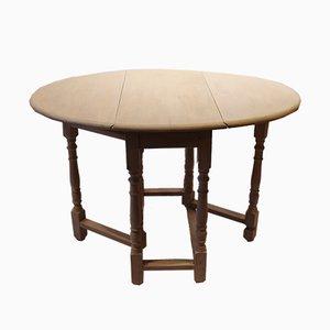 Table Pliante Blanche, 1880s