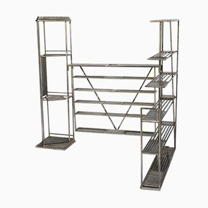 Metallic Shelves, 1993, Set of 3