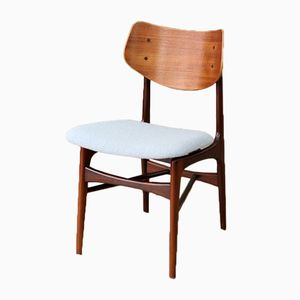 Mid-Century Side Chair by Louis van Teeffelen