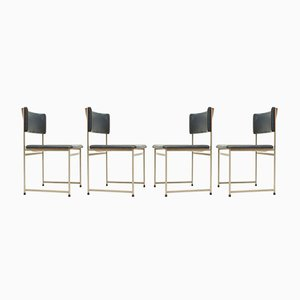 SM08 Chairs by Cees Braakman for Pastoe, 1950s, Set of 4