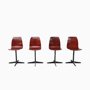 Chaises Vintage de Pagholz, Set de 4