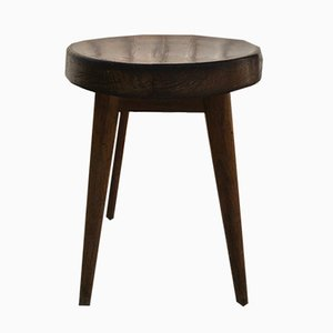 Vintage Stool by Pierre Jeanneret for Steph Simon