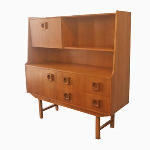 Mid-Century English Highboard, 1970s