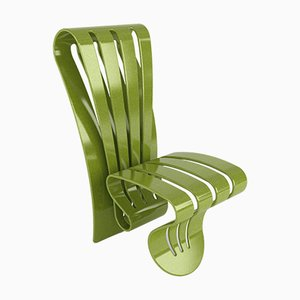 Limited Edition Corian Leaf Chair by Giancarlo Zema for Luxyde