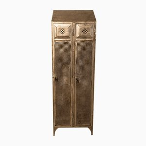 Antique Factory Metal Locker