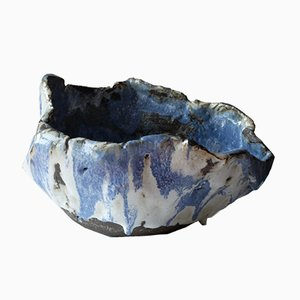 Blue Ghost Bowl by AnnaLeaClelia Tunesi